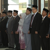 Unsyiah Rector Inaugurates 9 Vice Deans - Unsyiah Rector Inaugurates 9 Vice Deans