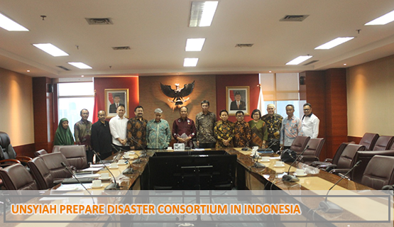 Unsyiah Prepare Disaster Consortium in Indonesia