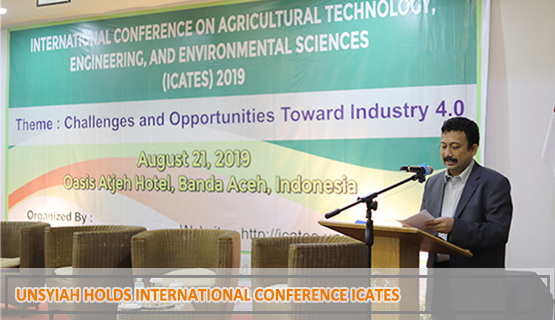 Unsyiah Holds International Conference ICATES