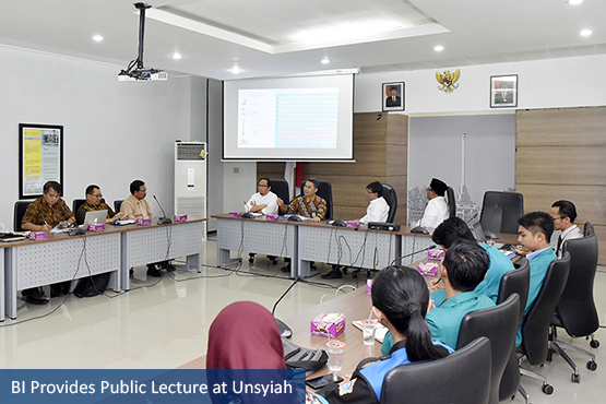 BI Provides Public Lecture at Unsyiah