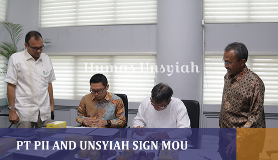 PT PII and Unsyiah sign MoU