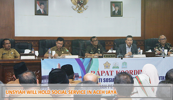 Unsyiah Will Hold Social Service in Aceh Jaya