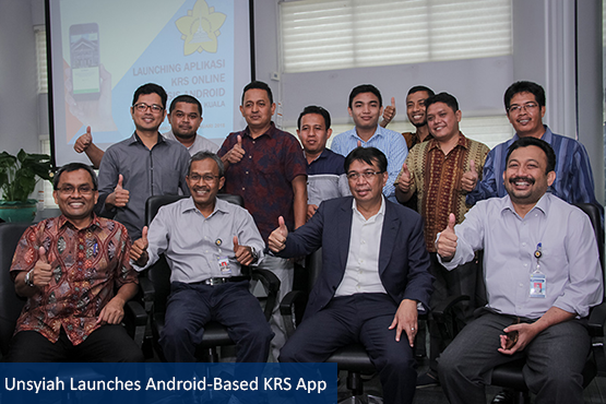 Unsyiah Launches Android-Based KRS App