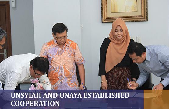 Unsyiah and Unaya Established Cooperation