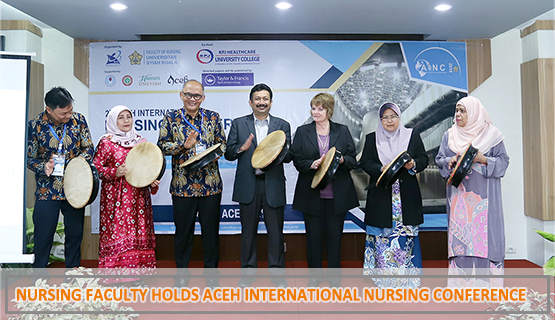 Nursing Faculty Holds Aceh International Nursing Conference