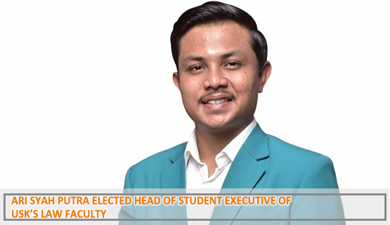 Ari Syah Putra Elected Head of Student Executive of USK's Law Faculty