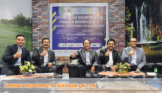 Unsyiah Held SBMPTN Talkshow on TVRI