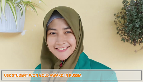 USK Student Won Gold Award in Russia