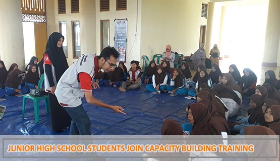 Junior High School Students Join Capacity Building Training