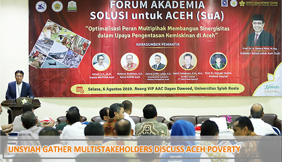 Unsyiah Gather Multistakeholders Discuss Aceh Poverty
