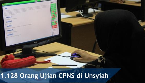 1.128 Orang Ujian CPNS di Unsyiah