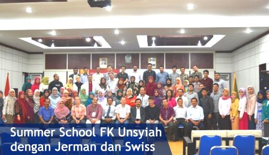Summer School FK Unsyiah dengan Jerman dan Swiss