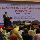 Bank Indonesia Launching Buku di Unsyiah - Bank Indonesia Launching Buku di Unsyiah
