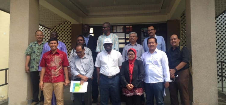 Participation of the National Disaster Management Agency of Indonesia with TDMRC