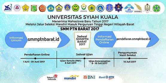 Unsyiah Buka Penerimaan Mahasiswa Jalur SMM PTN-BARAT