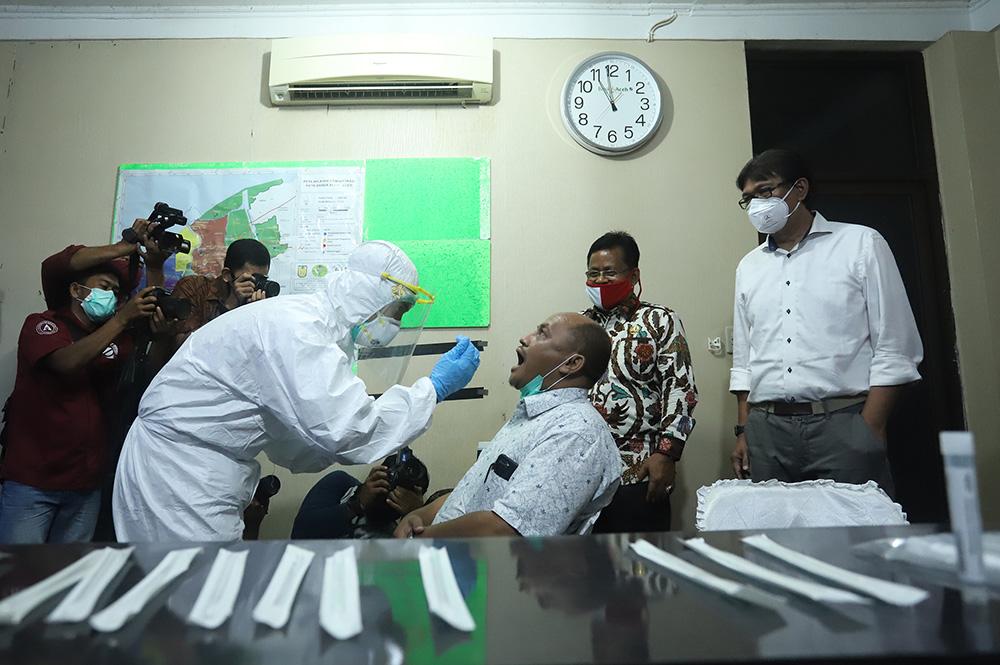 Unsyiah Target 0 5 Persen Penduduk Aceh Ikuti Tes Swab Universitas Syiah Kuala