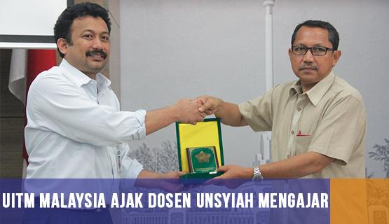 UiTM Malaysia Ajak Dosen Unsyiah Mengajar