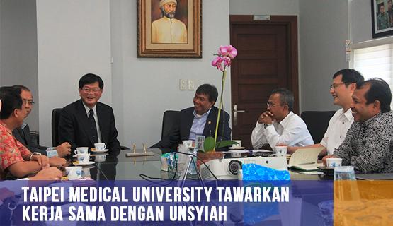 Taipei Medical University Tawarkan Kerja Sama dengan Unsyiah