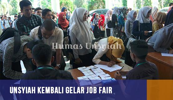 Unsyiah Kembali Gelar Job Fair