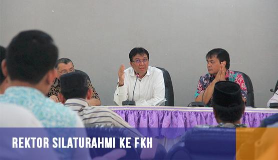Rektor Silaturahmi ke FKH