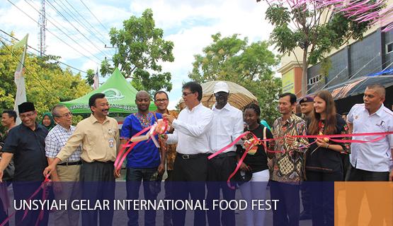 Unsyiah Gelar International Food Fest