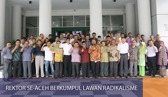 Rektor se-Aceh Berkumpul Lawan Radikalisme