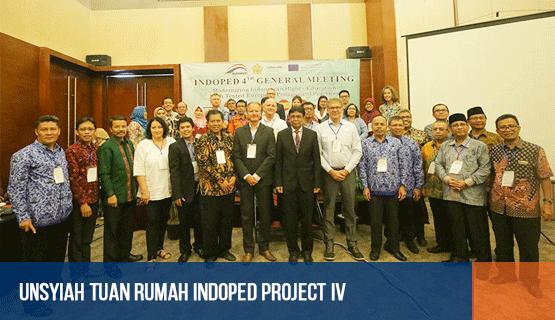 Unsyiah Tuan Rumah Indoped Project IV