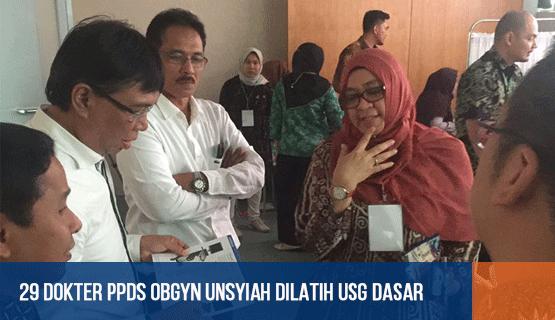 29 Dokter PPDS Obgyn Unsyiah Dilatih USG Dasar