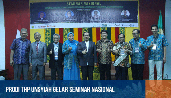 Prodi THP Unsyiah Gelar Seminar Nasional