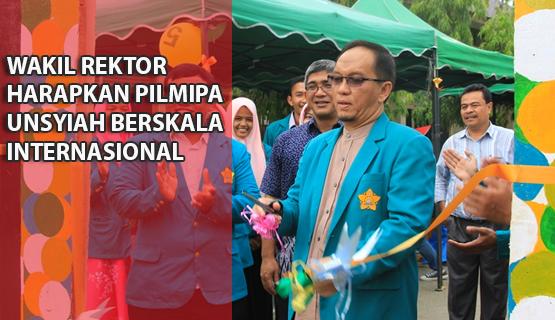 Wakil Rektor Harapkan PILMIPA Unsyiah Berskala Internasional