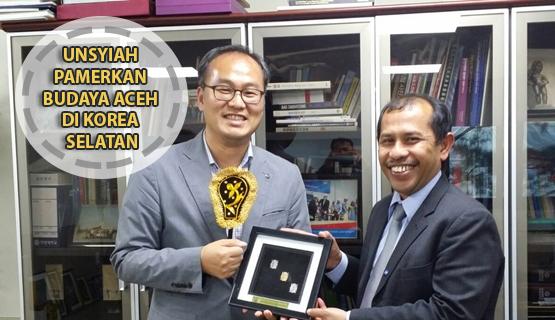 Unsyiah Pamerkan Budaya Aceh di Korea Selatan