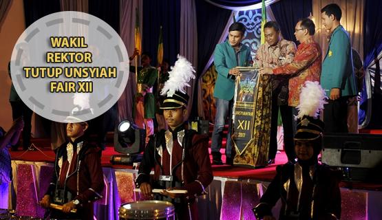Wakil Rektor Tutup Unsyiah Fair XII