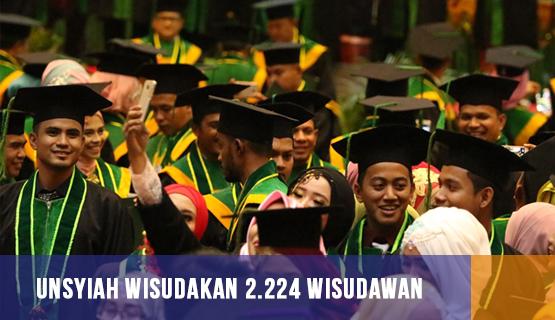 Unsyiah Wisudakan 2.224 Wisudawan