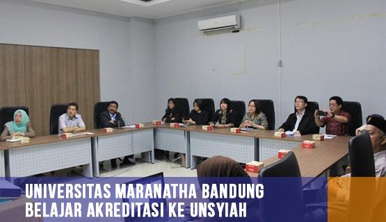 Universitas Maranatha Bandung Belajar Akreditasi ke Unsyiah