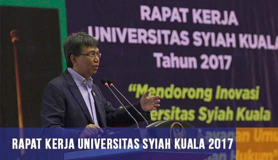 Rapat Kerja Universitas Syiah Kuala 2017