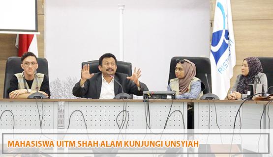 Mahasiswa UiTM Shah Alam Kunjungi Unsyiah