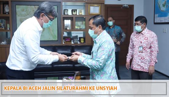 Kepala BI Aceh Jalin Silaturahmi ke Unsyiah