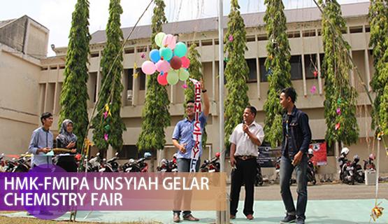 HMK-FMIPA Unsyiah Gelar Chemistry Fair