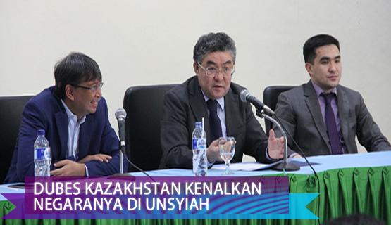 Dubes Kazakhstan Kenalkan Negaranya di Unsyiah
