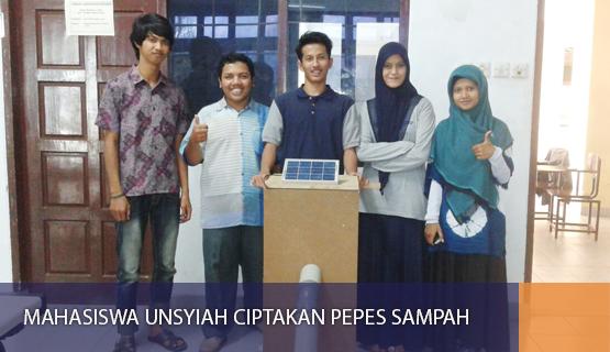 Mahasiswa Unsyiah Ciptakan Pepes Sampah