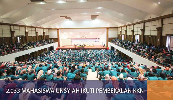 2.033 Mahasiswa Unsyiah Ikuti Pembekalan KKN