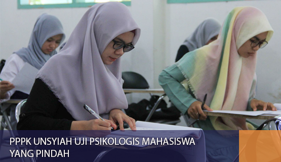 PPPK Unsyiah Uji Psikologis Mahasiswa yang Pindah