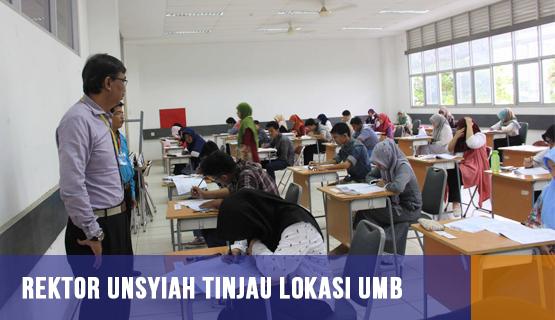 Rektor Unsyiah Tinjau Lokasi UMB