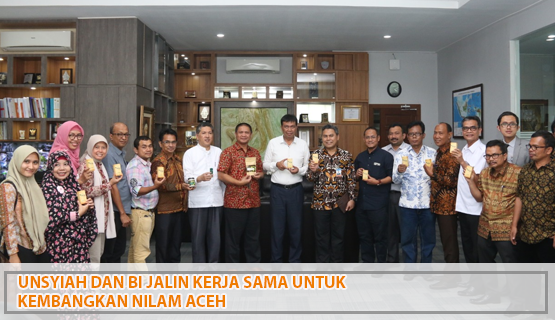 Unsyiah dan BI Jalin Kerja Sama untuk Kembangkan Nilam Aceh