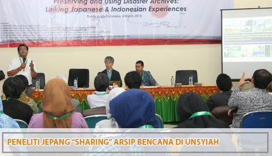 """Peneliti Jepang """"Sharing"""" Arsip Bencana di Unsyiah"""
