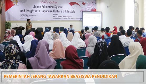 Pemerintah Jepang Tawarkan Beasiswa Pendidikan