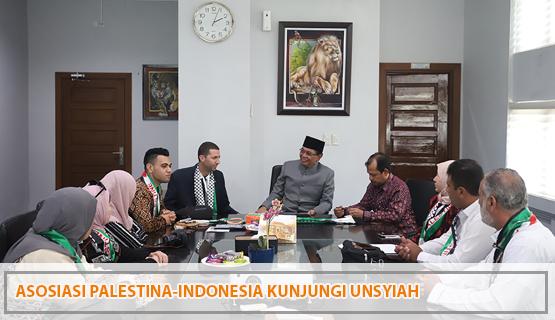 Asosiasi Palestina-Indonesia Kunjungi Unsyiah