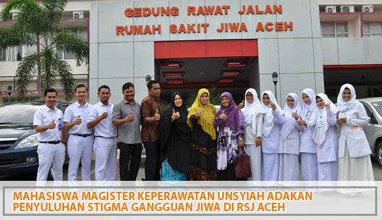 Mahasiswa Magister Keperawatan Unsyiah Adakan Penyuluhan Stigma Gangguan Jiwa di RSJ Aceh