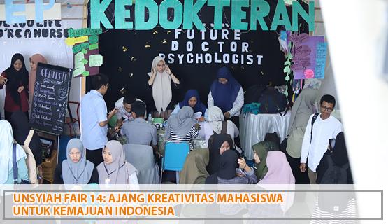 Unsyiah Fair 14: Ajang Kreativitas Mahasiswa untuk Kemajuan Indonesia