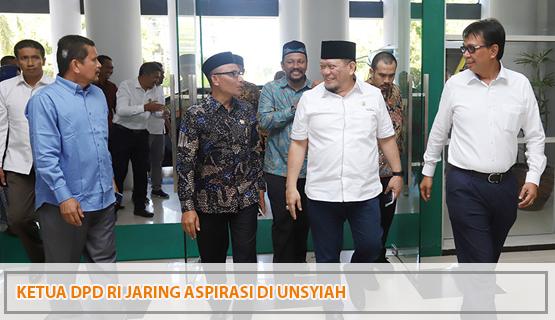 Ketua DPD RI Jaring Aspirasi di Unsyiah